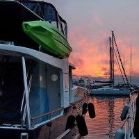 вечер в яхт-клубе :: Ingwar