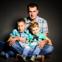 счастливый папа :: Светлана Корнева