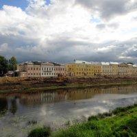 Ремонт набережной реки Вологды :: irina
