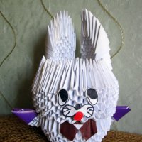 Заяц - оригами. :: Мила Бовкун