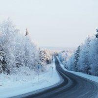 Зимний пейзаж :: Александр Фищев