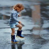 дождливый день :: Александра Кормильчинкова