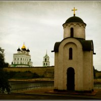 Ольгинская часовня. Троицкий собор. :: Fededuard Винтанюк