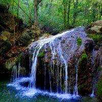 маленький  водопад :: неля  тулузова