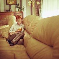 """..мальчк с яблоком или """"рыжики"""" :: alla skazova"""