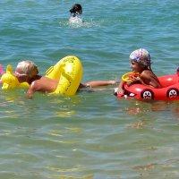 Веселое купание :: Людмила Монахова
