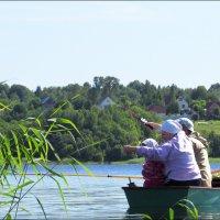 На рыбалку - всей семьёй! :: Елена Швецова