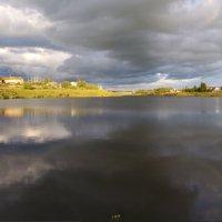 Пруд в селе Берёзовка... :: Владимир Хиль