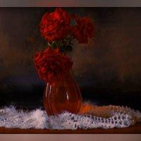 Букетик из роз алых :: galina tihonova