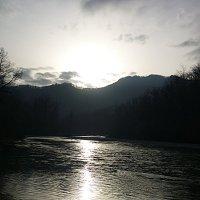 Река Белая на закате :: Елена Московская