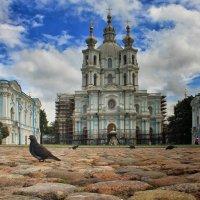 Смольный монастырь :: Марина Назарова