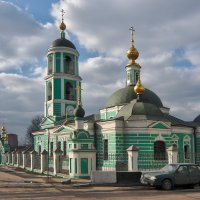 Церковь Троицы Живоначальной в Карачарово :: Rabbit Photo