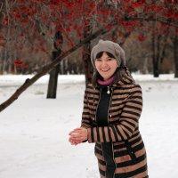 Игра в снежки :: Евгения Тарасова