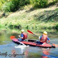 Турслёт 2015 на берегу реки Лугань :: Наталья (ShadeNataly) Мельник