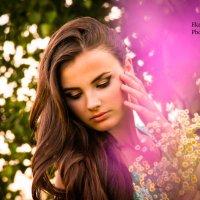 Девушка в цветах :: Екатерина Гринь
