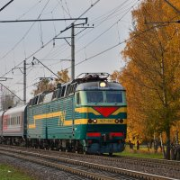 Электровоз ЧС7-047 :: Денис Змеев