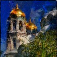 колокольня Морского собора святителя Николая Чудотворца в Кроштадте :: Станислав Лебединский