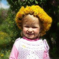 Внучке Маше 2 года. :: Любовь