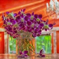 орхидеи.масло) :: Александр