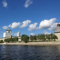 Псков. Великая, Кром, Троицкий собор... :: Владимир Павлов