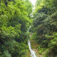водопад Авадхарский минеральный источник :: Юрий Безфамильный