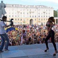 День Северодвинска. Фестиваль красок завершился эротическим танцем :: Владимир Шибинский