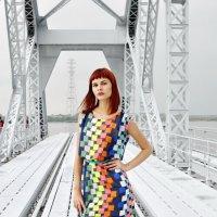 на  мосту :: Евгения Полянова