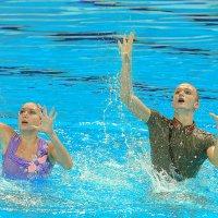 синхронное плавание :: Сергей Казымов