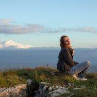 Рядом с облаками. На вершине Бермамытского плато. Высота более 2500 м. :: Vladimir 070549