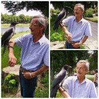 Добрый человек и птица :: Сергей МЫРДИН