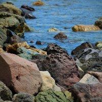 Цветные камни бухты Двух Истуканов :: Boris Khershberg