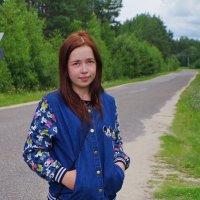 Девочка из деревни Филисово :: Валерий Талашов