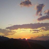 Закат над Красной поляной Сочи :: Tata Wolf