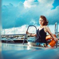 the girl on the boat :: Сергей Бабичев