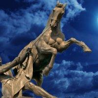 конь и луна :: Валерий Ходунов