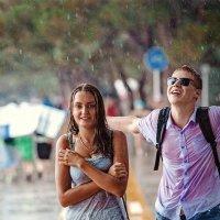 Промокшие, загорелые и счастливые... :: Сергей Бурыкин