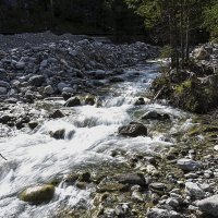 Горная река :: Анатолий Иргл
