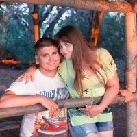 Оранжевый закат...)) :: Райская птица Бородина