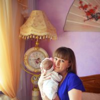 Татьяна и маленькая Ольга :: Наталья Цыпцына