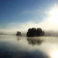 Туман на Сайме. :: Ирина Румянцева