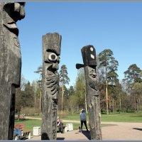 Идолы Чансын, скульптура :: Вера