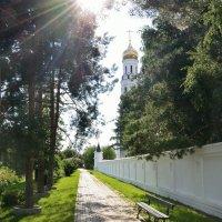 Дорога к храму... :: Александр