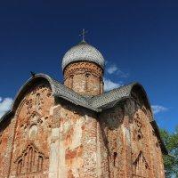Церковь Петра и Павла в Кожевниках 1406г Великий Новгород :: Valentina Altunina