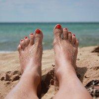 Ножки на отдыхе..) :: Елена