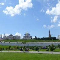 Вид на Казнский кремль :: Наиля