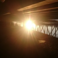 Под мостом :: L.Kot Суздалев