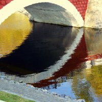 мостик в отражении :: Александр Прокудин
