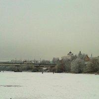 Ока зимой. :: Борис Митрохин