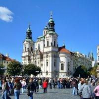 Церковь Святого Николая на Староместской площади в Праге :: Денис Кораблёв