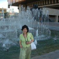 На фоне фонтана :: Elena